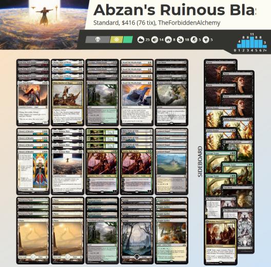 Abzan's Ruinous Blast