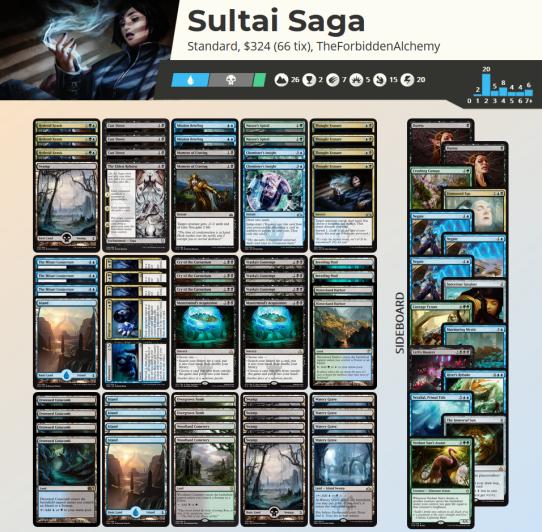 Sultai Saga